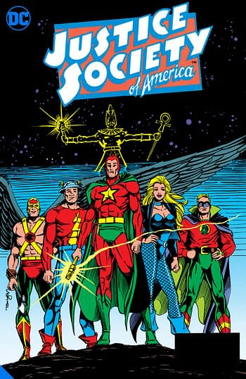 JSA, one of many DC Big Books in 2020 and 2021