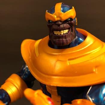 Thanos Marvel Legends Walmart Exclusive Figure Hitting Stores Now