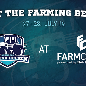 Farming Simulator League Will be At FarmCom 2019