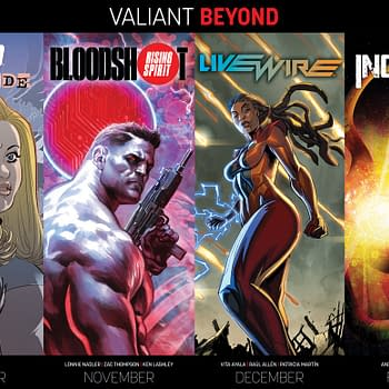 Valiant Launches Beyond with 3 New Series Leading into Next Years Incursion Super-Mega-Crossover Event