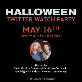 Halloween Watch Party promo.