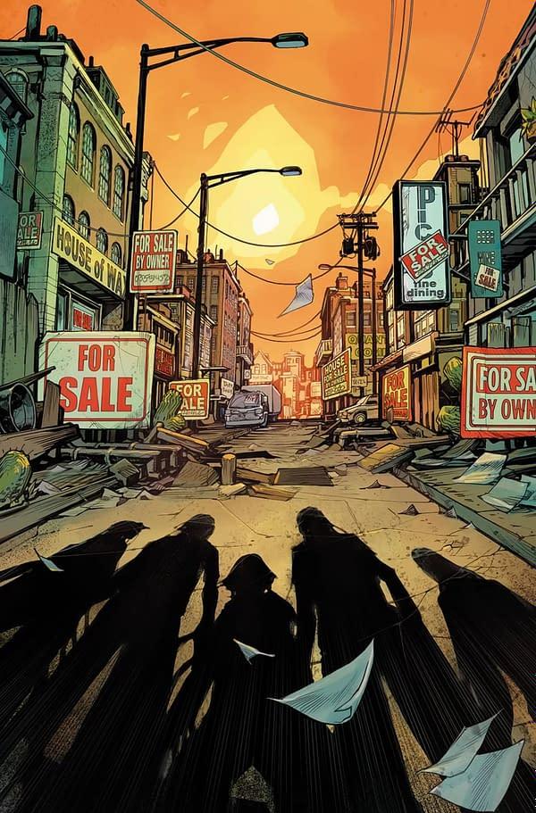 DC Comics Cancels Inferior Five Series H