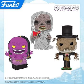 Funko London Toy Fair Reveals - Creepshow and Fantasy Island