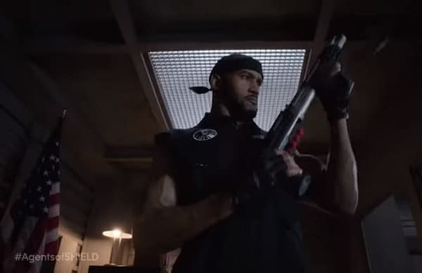 Mack's ready to set the future right in Marvel's Agents of S.H.I.E.L.D., courtesy of ABC.