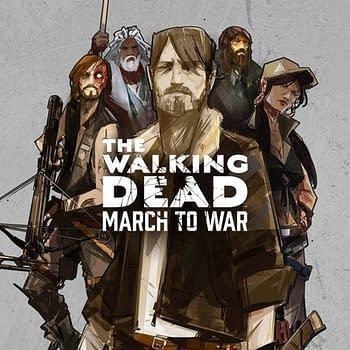 Walking Dead March To War Art