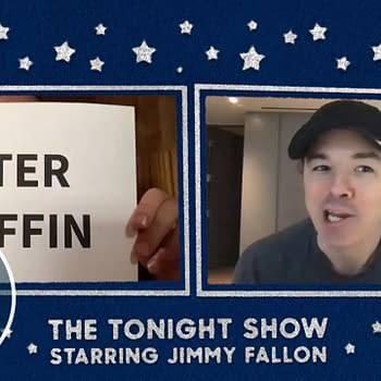 Family Guy and American Dad creator Seth MacFarlane visits Jimmy Fallon and The Tonight Show (courtesy of NBCU).