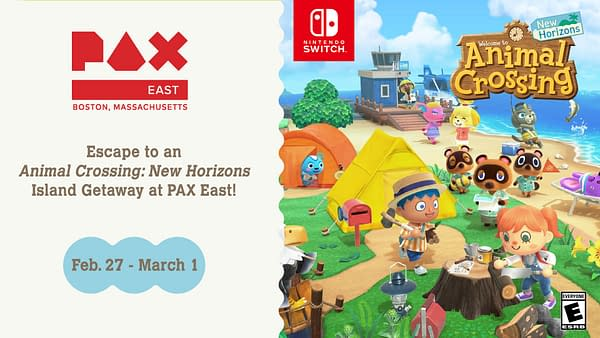 """Animal Crossing: New Horizons"" Gets An Island Getaway At PAX East"