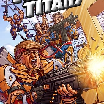 A New Comic Called Trumps Titans Is Some Kind Of Parody But Of What And Why