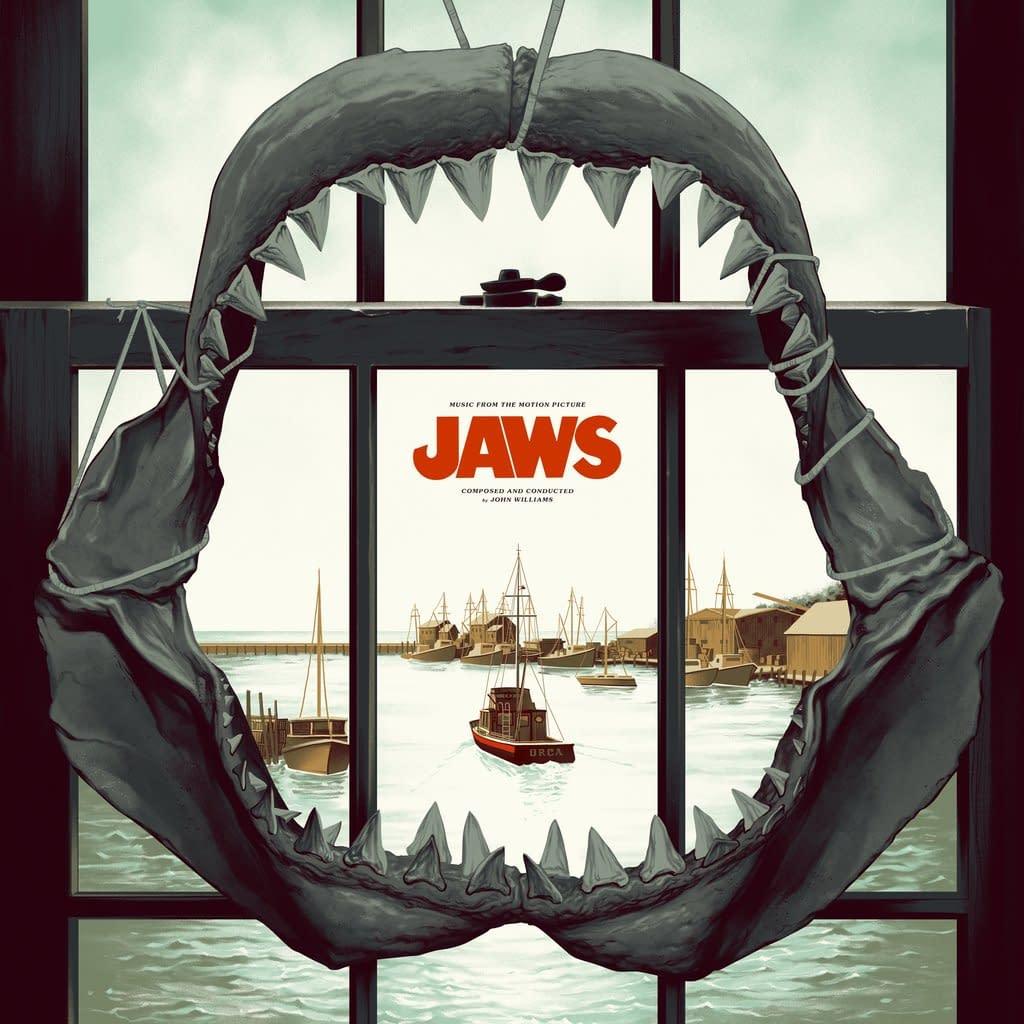 Mondo lance un Merch Jaws impressionnant ce mercredi