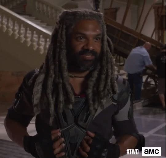 walking dead season 9 bts video