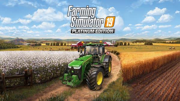 """""""Farming Simulator 19"""" Platinum Edition Is Coming In October"""