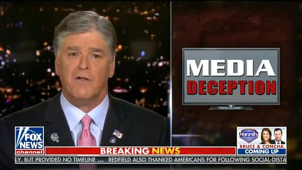 Sean Hannity Wears Punisher Pin On Fox News