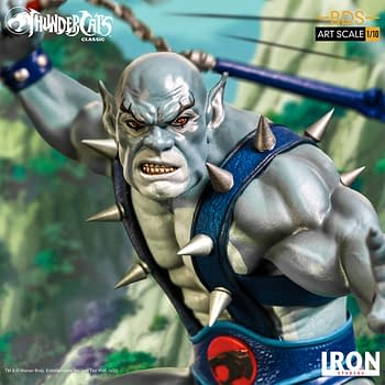 Thundercats Panthro is a Beast with New Iron Studios Statue