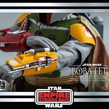 Hot Toys Empire Strikes Back Boba Fett Retro Throwback Figure