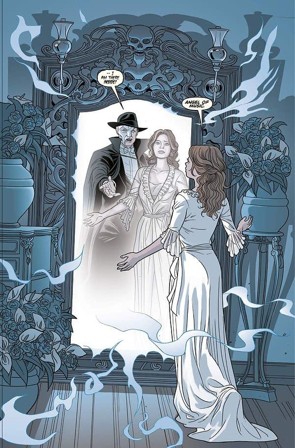 Andrew Lloyd Webber's Phantom Of The Opera, to be a Graphic Novel by Cavan Scott and José María Beroy