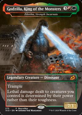 Godzilla King of the Monsters mtg card