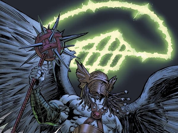 The Doom Signal Comes to DC Comics Titles Today (Hawkman, Supergirl, JLO, Catwoman Spoilers)