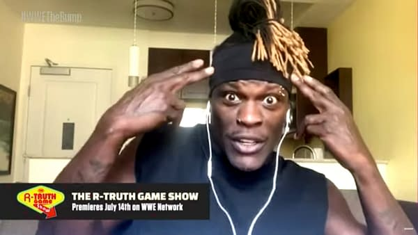 R-Truth announces the debut of his new game show on WWE's The Bump podcast.