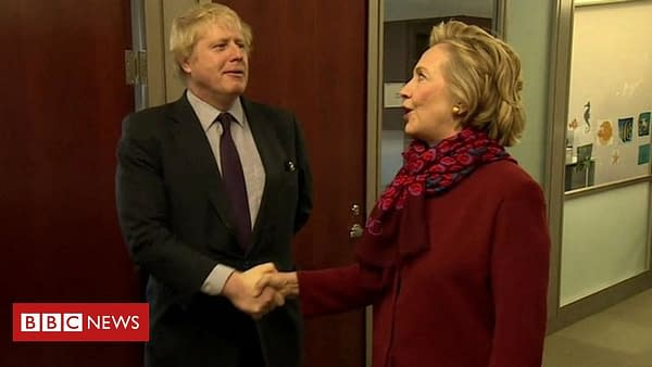 Boris Johnson, New Prime Minister of Britain, is to the Left of Hillary Clinton?