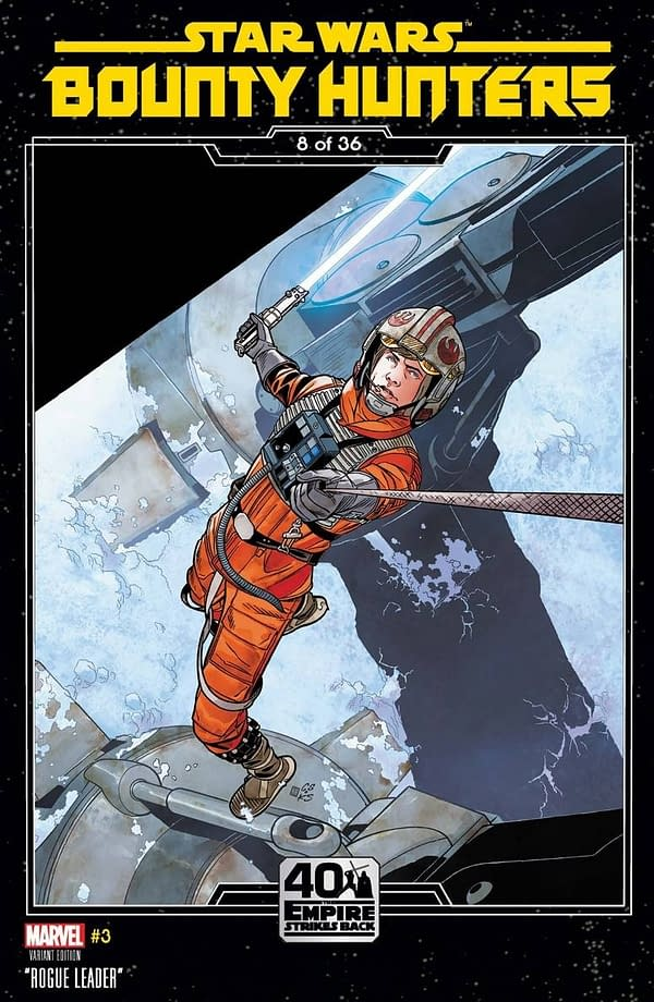Star Wars Bounty Hunters #3 Variant Cover