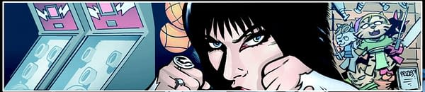 David Avallone's Writer's Commentary on Elvira: Mistress Of The Dark #11