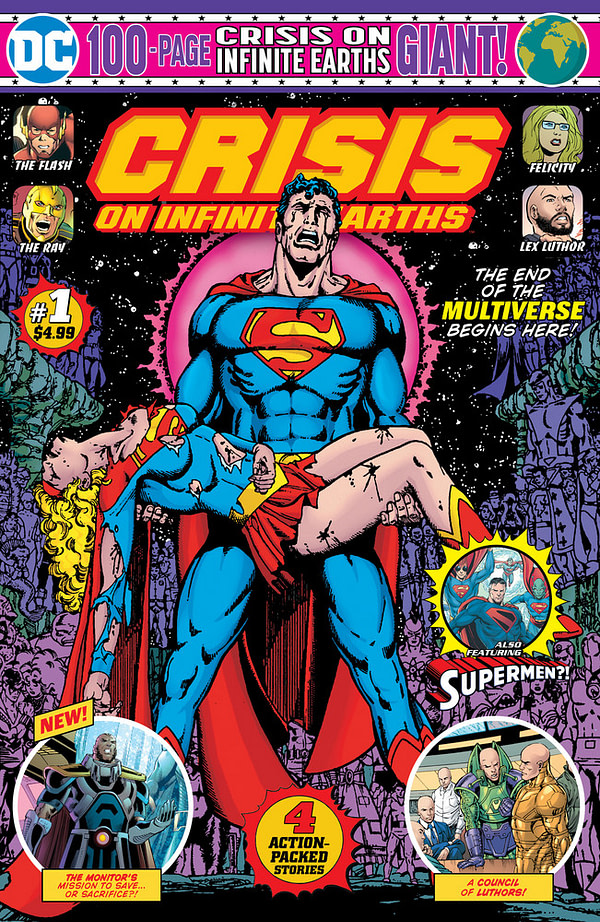 DC's Crisis on Infinite Earths 100-Page Giant to Tie-In with CW Crossover