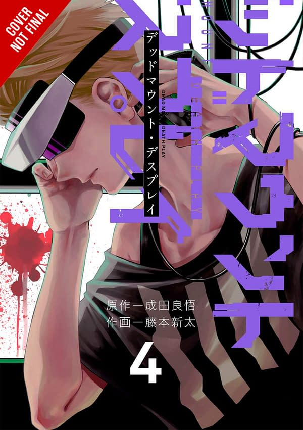 The cover of Dead Mount Death Play, Vol. 4 by Yen Press.
