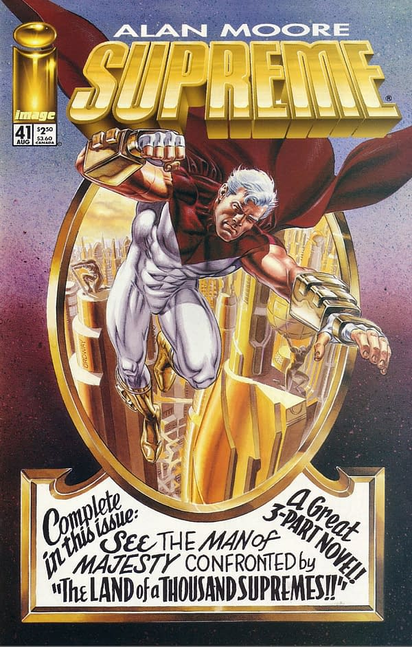 When Rob Liefeld Offered John Byrne $150,000 an Issue to Draw Supreme