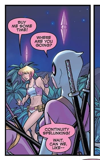 Gwenpool, the Latest to Wield Thor's Hammer Mjolnir and You Will Never Guess How