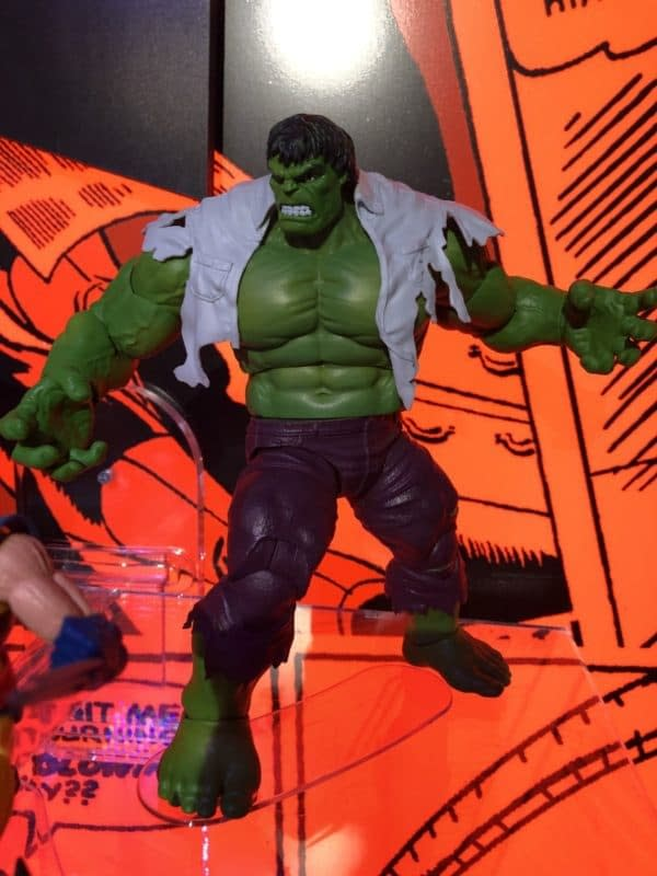 Toy Fair Marvel Legends Hulk