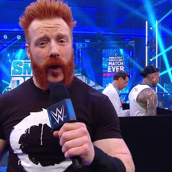 Sheamus on SmackDown (Image: WWE).