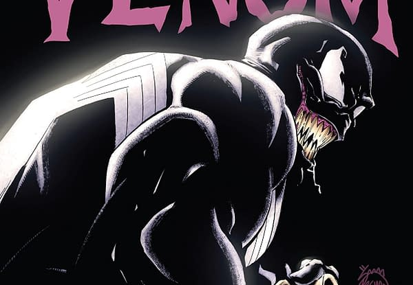 Venom #164 cover by Ryan Stegman and Morry Hollowell