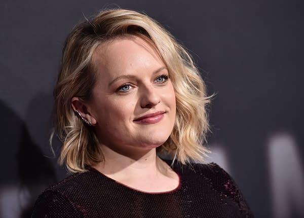 Elisabeth Moss arrive pour The Invisible Man Premiere le 24 février 2020 à Hollywood, CA. Crédit éditorial: DFree / Shutterstock.com
