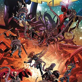 Infinity Wars #3 cover by Mike Deodato Jr. and Rain Beredo