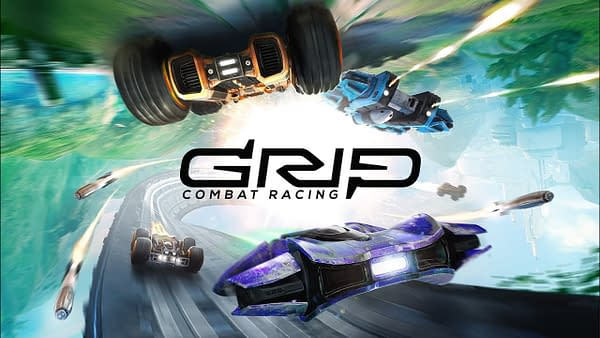 GRIP: Combat Racing Reveals a New Vehicle in the Game With AirBlades