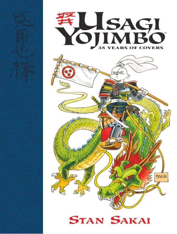 Dark Horse to Reprint Over 300 Usagi Yojimbo Covers in New Hardcover