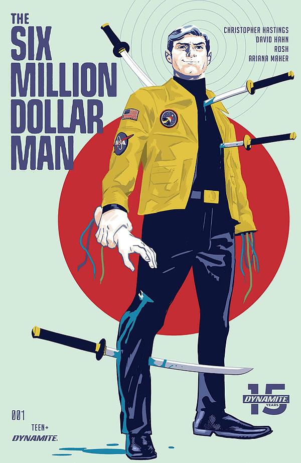 "Steve Austin Vs. Ninjas and Nukes in ""Six Million Dollar Man"" #1 (REVIEW)"