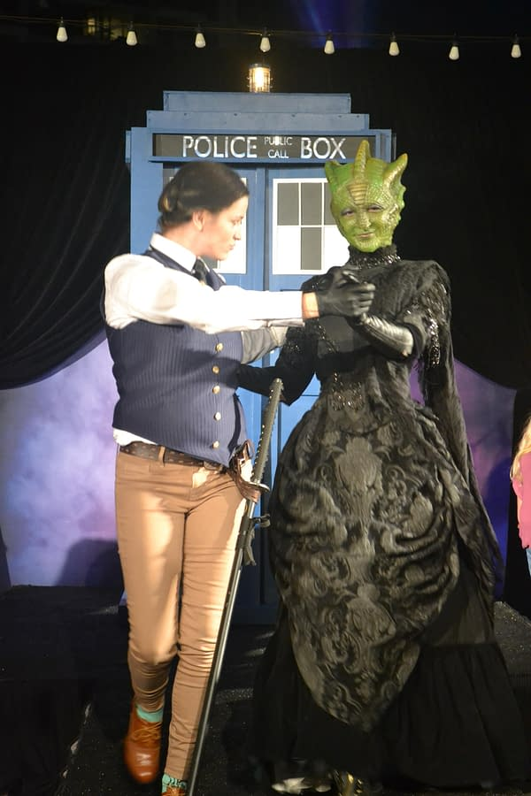 Photos: Doctor Who Cosplay Show Hits A Few Bumps In The Time Vortex