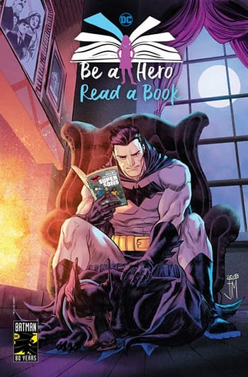 DC Comics Launches 'Be A Hero, Read A Book' – as Long as It's a Comic