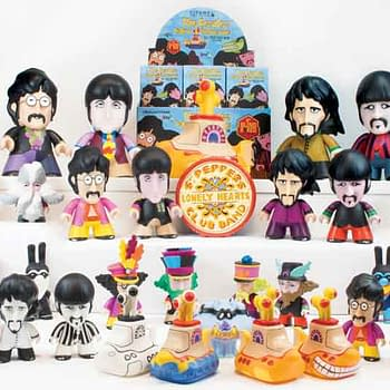 Beatles Yellow Submarine Themed Vinyl Figures On Their Way From Titan