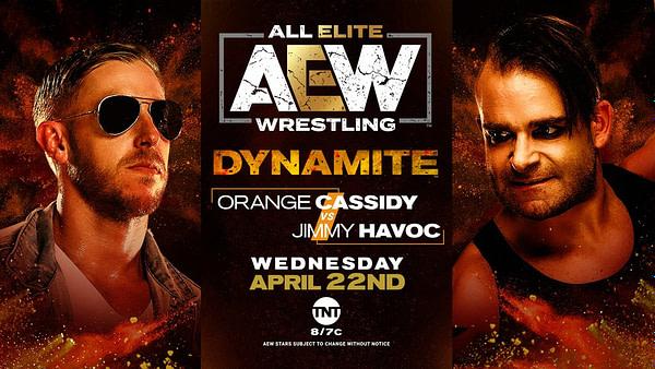 Orange Cassidy affrontera Jimmy Havoc sur Dynamite la semaine prochaine.