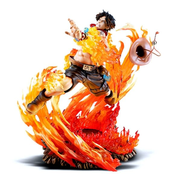 One Piece Portgas D Ace Gets a Limited Edition Statue from Megahouse