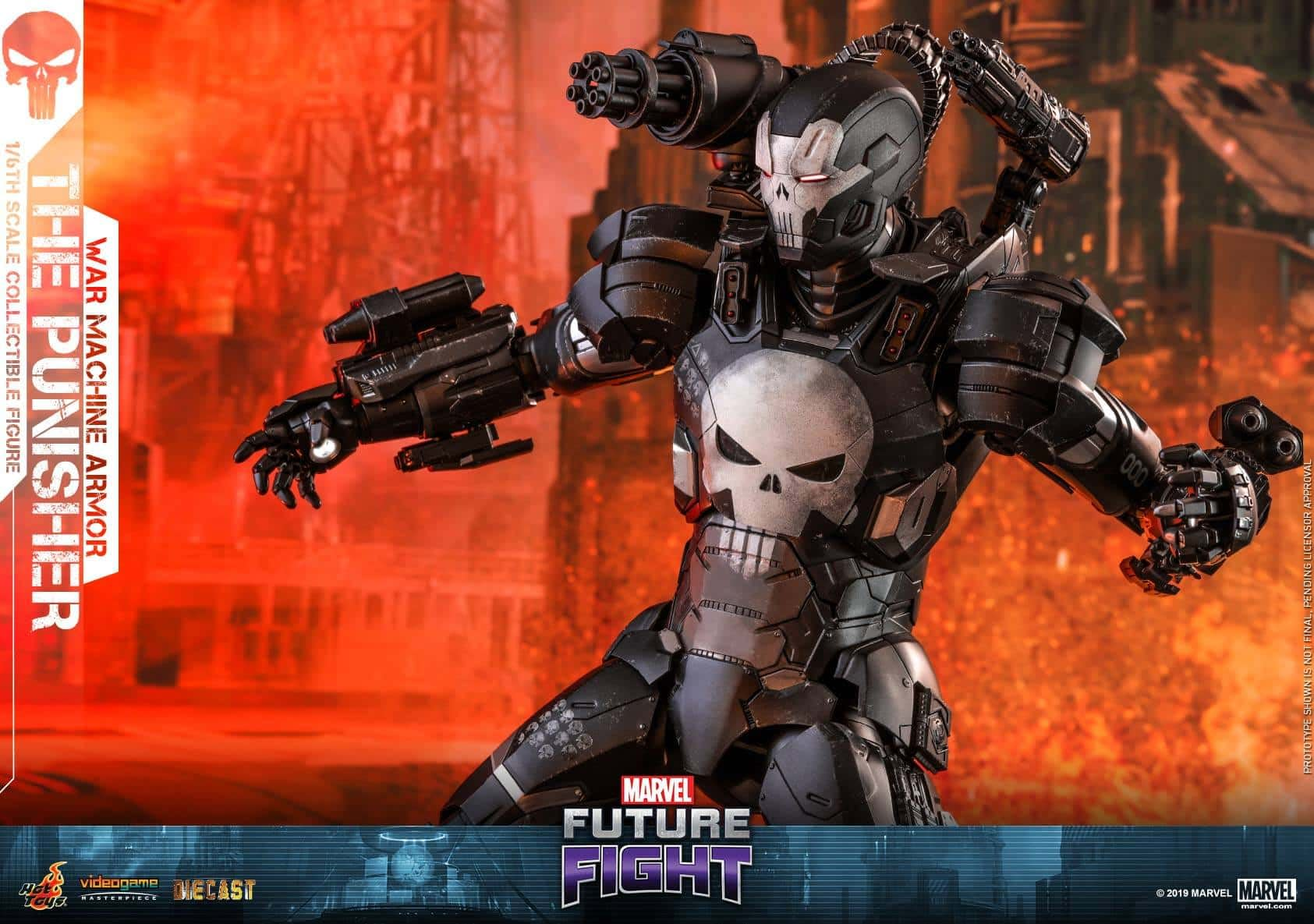 Marvel Future Fight War Machine Punisher 12
