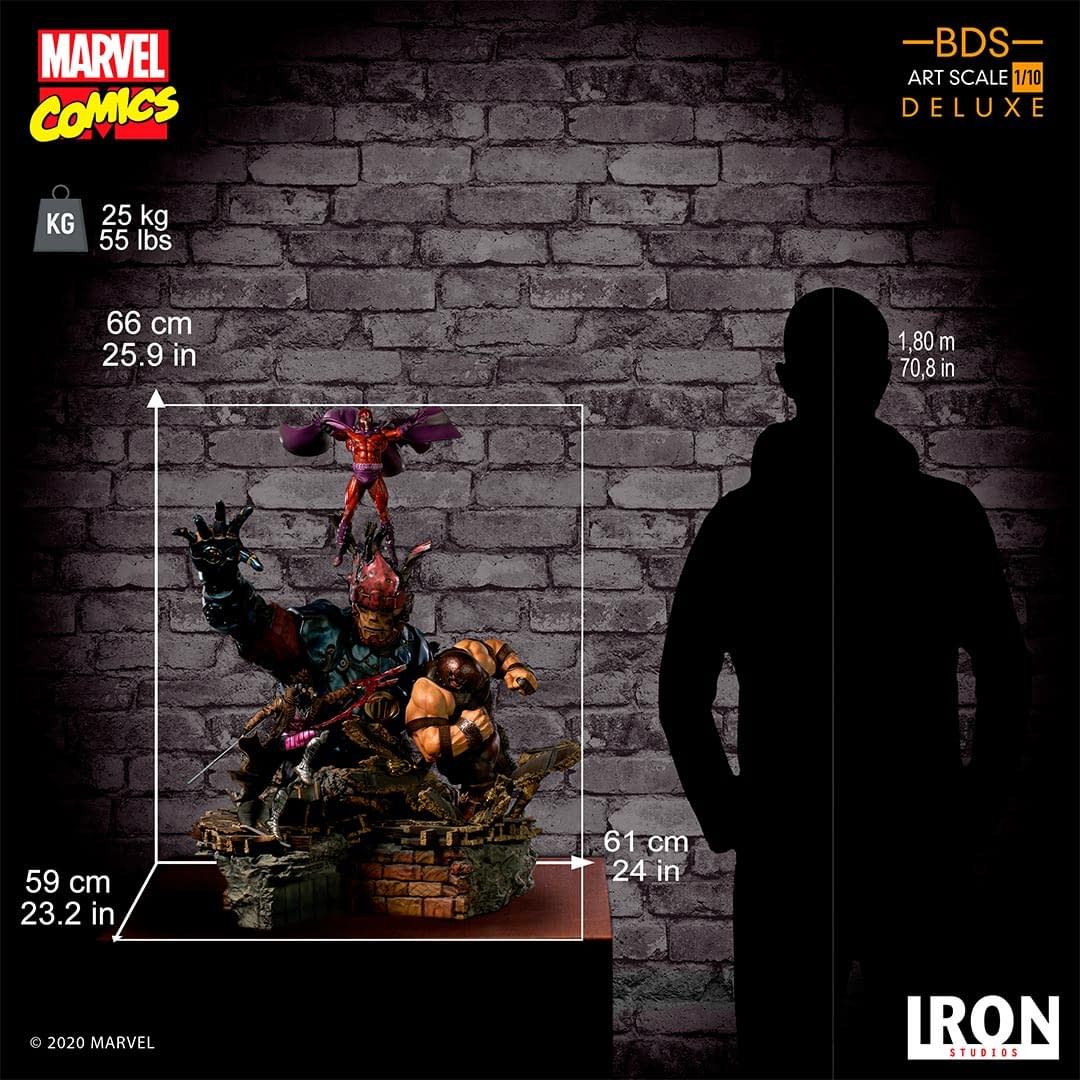 X-Men vs Sentinel Gets a Second Statue with Iron Studios