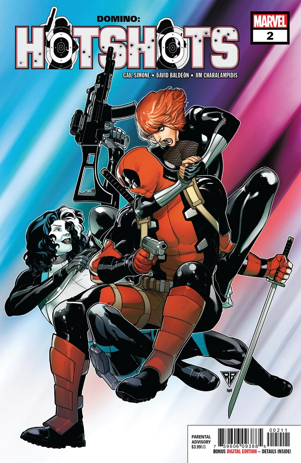 Outlaw Gets a New Power in Next Week's Domino: Hotshots #2