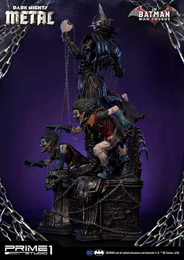 Dark Knights Metal Batman Who Laughs Prime 1 Studio Statue 2