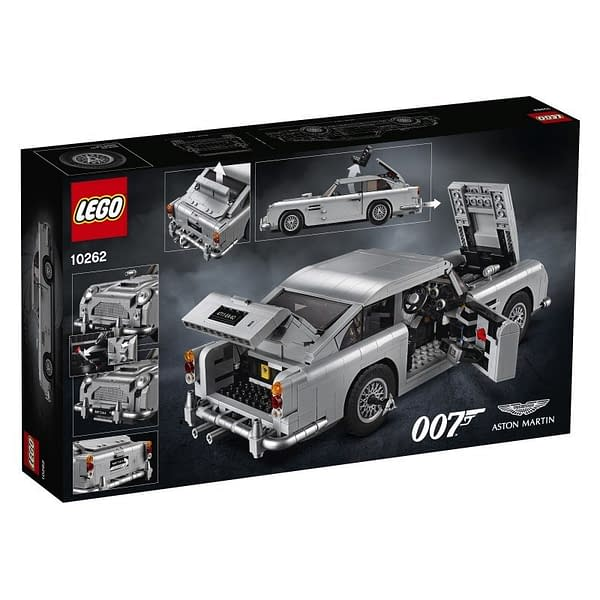 LEGO Creator James Bond Aston Martin 2
