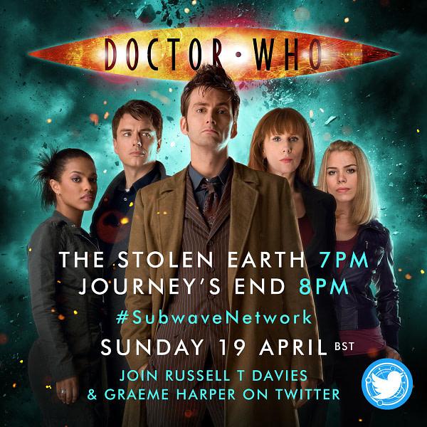 Voici un aperçu de l'affiche officielle de la ré-écoute de Doctor Who, gracieuseté de la BBC.