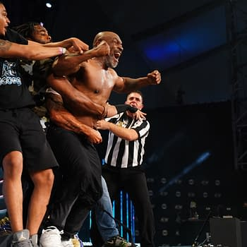 Mike Tyson participated in a big angle on AEW Dynamite.