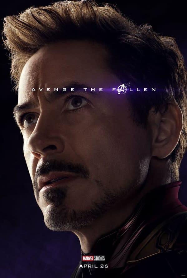 Avenge The Fallen: New 'Avengers: Endgame' Character Posters Released
